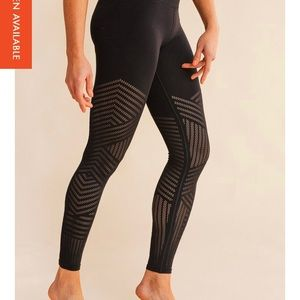 Lululemon barre3 reveal mesh tights size 8